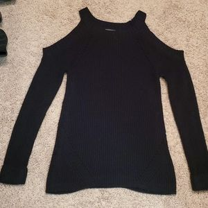 Ladies XS Cold Sholder Sweater